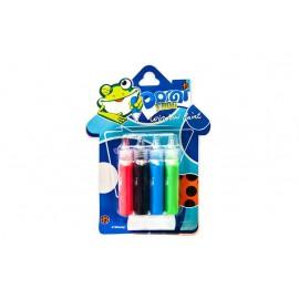 Набір вітражних фарб 4 кольори по 20 мл Pasco WP-001, 320097