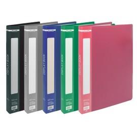 Папка пластиковая A4 30 файлов цвет ассорти Buromax, BM.3612-99, 100973