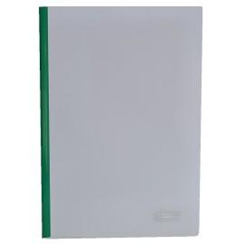 Скоросшиватель пластиковый А4 с прижимной планкой 10 мм зеленый Buromax, BM.3371-04, 337104