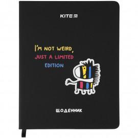 Щоденник шкільний тверда обкладинка PU Kite Zebra ..