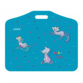 Папка портфель А3 пластикова на липучках Kite Adorable K21-208-01, 47962