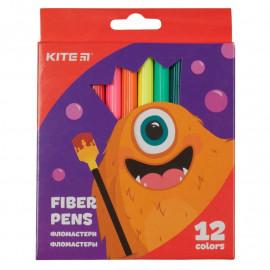 Фломастери 12 кольорів Kite Jolliers K19-047, 40126