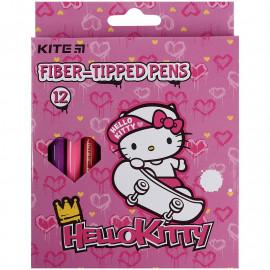 Фломастери 12 кольорів Kite Hello Kitty HK21-047, 47775