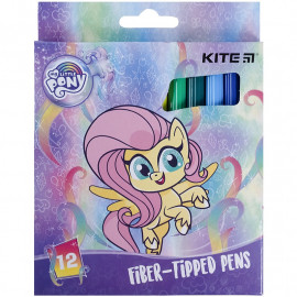 Фломастери 12 кольорів Kite My Little Pony LP21-047, 47774