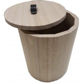 Скринька для декору кругла діаметр 12 см, висота 15 см, Knorr Prandell, 218735421