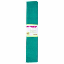 Папір креповий 55% зелений 50х200 см 1Вересня, 701528