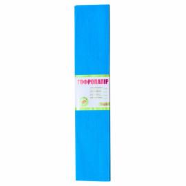 Папір креповий 55% блакитний світлий 50х200 см 1Вересня, 703002