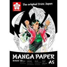 Альбом для малюнку Manga А5 20 аркушів 250 г/м2 Sakura, 99MANPADA5, 398491
