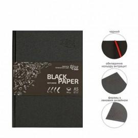Блокнот А5 Rosa Studio чорний папір сторінок 96 аркушів 80 г/м, 165008