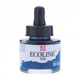 Фарба акварельна рідка Ecoline (533) індіго 30 мл Royal Talens, 11255331