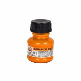 Тушь художественная, флуоресцентная оранжевая, 20 грамм, Koh-i-noor, 35434