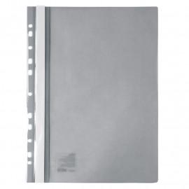 Швидкозшивач пластиковий А4 с перфорацією сірий Axent, 1318-12-A, 42289