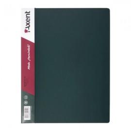 Папка швидкозшивач А4 з металевим притиском зелена Axent, 1304-05-A, 02471