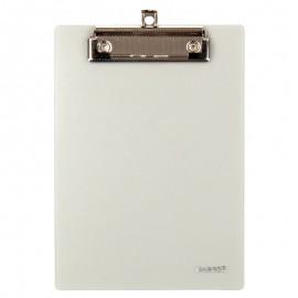 Планшет пластиковый А5 с металлическим клипом серый Axent, 2516-28-A, 37271