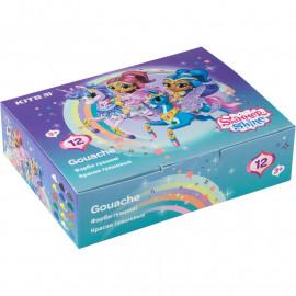 Гуаш 12 кольорів по 20 мл Kite Shimmer&Shine SH20-063, 43926