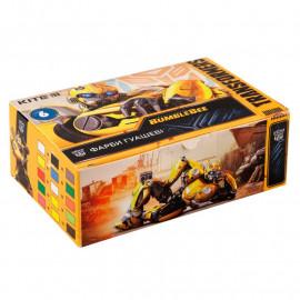Гуаш 6 кольорів по 20 мл Kite Transformers BumbleBee Movie TF19-062, 40663