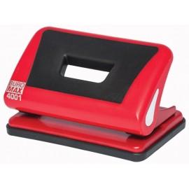 Дірокопробивач  пластиковий 10 аркушів червоний Buromax, BM.4001-05, 4043544