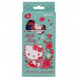 Пастелі олійні Kite Hello Kitty 12 кольорів HK19-071, 40255