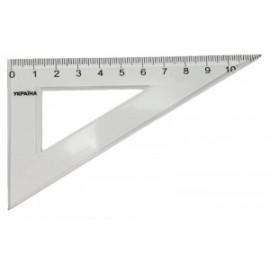 Трикутник 12 см пластиковий, Атлас, К-9043, 909703