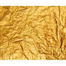 Поталь вільна золото № 2 імітація в аркушах 16х16 см 10 аркушів Nazionale, 9712001