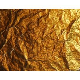 Поталь вільна золото № 2,5 імітація в аркушах 16х16 см 50 аркушів Nazionale, 9712505