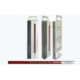 Олівець вугільний чорний Marco Raffine 7015-12CB, 914094