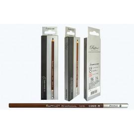 Олівець вугільний сірий Marco Raffine 7016-12CB, 914063