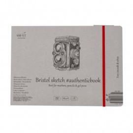 Альбом для ескізів Authentic Smiltainis 18 аркушів 24,5х17,6 см 185 г/м2, 587651