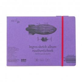 Альбом для ескізів Authentic Smiltainis папір з бавовною 24 аркуші 24,5х17,6 см 135 г/м2, 588627