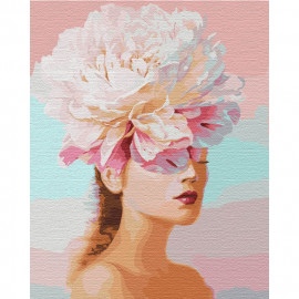 Картина за номерами Квіткові думки 40х50 см Ідейка КНО4765, 323969