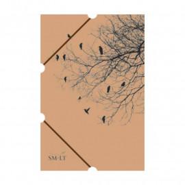 Папка А3 картонна на гумках для живопису Smiltainis, 586845