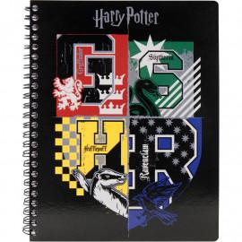 Коледж-блок А5 80 аркушів клітинка Kite Harry Potter HP20-248-1, 45074