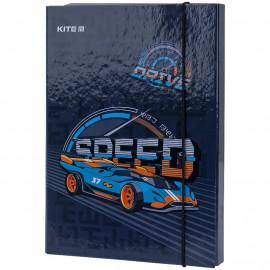 Папка В5 для зошитів на гумці картонна Kite Speed K21-210-2, 47966