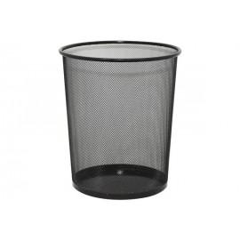 Кошик для паперів металева сітка чорна 27х18 см, ООПТ, DX-5003, 100142