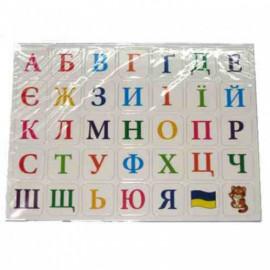 Набір магнітних літер український алфавіт 23х17 см OOПT wk-001, 140216