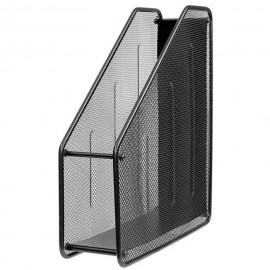 Лоток вертикальний металевий чорний 1 відділення ООПТ, 307-А, 381053