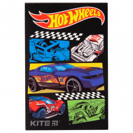Блокнот Kite Hot Wheels 48 аркушів клітинка HW19-224, 40761