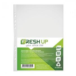 Файли А4 глянцеві 80 мкм 20 штук Fresh Up, FR-2080-20, 600415