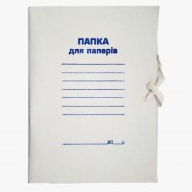 Папка на зав\'язках А4, картон 0,3 мм, клеєний клапан, Jobmax, Buromax, BM.3359, 924551