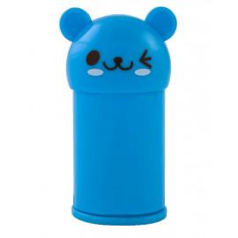 Точилка 2 отверстия c контейнером и ластиком пластиковая Animal, Kids Line, Zibi, ZB.5594, 944962