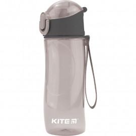 Пляшечка для води Kite 530 мл сіра K18-400-03, 38764