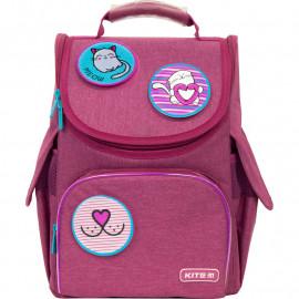 Рюкзак LED шкільний каркасний Kite Education Meow K21-501S-6, 47315