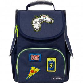 Рюкзак LED шкільний каркасний Kite Education Game over K21-501S-8, 47317