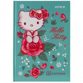 Щоденник шкільний тверда обкладинка Kite Hello Kitty HK19-262-2, 40975