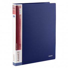 Папка А4 пластикова 2 кільця 25 мм синя Axent 1207-02-A, 36031