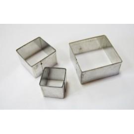 Набір катерів квадратних 3 предмети D.K.ArtCraft, 50051223