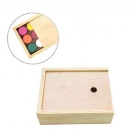 Пенал для гуашевих фарб дерев\'яний 17х13,3х5,3 см Rosa Studio, 50083141