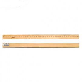 Лінійка 40 см деревяна Атлас AS-0655, 558056