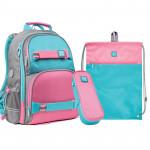 Рюкзак з наповненням пенал сумка для взуття Wonder Kite SET_WK21-702M-1, 48285