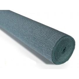 Бумага креповая, серо-зеленый № 606, 50*250 см, 180 г/м2, Cartotecnica Rossi, 6060601